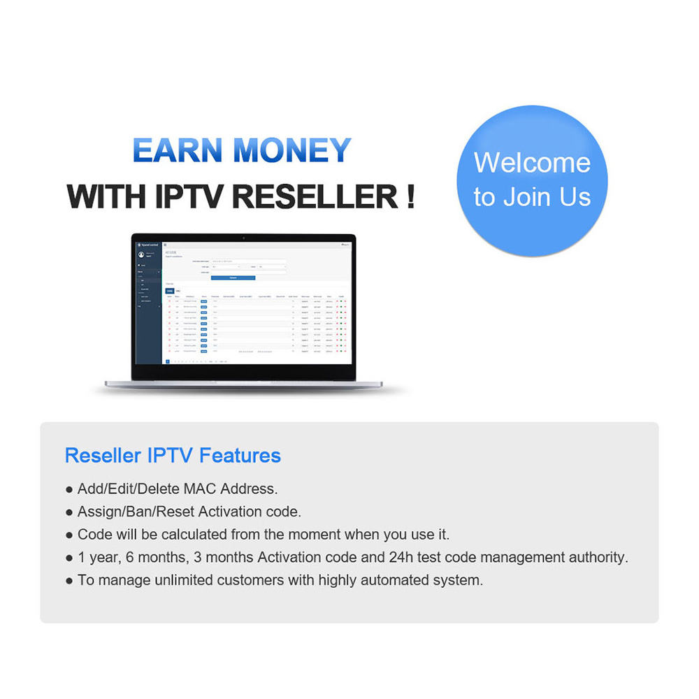 1 Year IUDTV PRO IPTV M3u Italia Spanish IP TV Greek Swedish Europe IPTV Code for Android M3u MAG25X Enigma2 IPTV Subscription in Set top Boxes from Consumer Electronics