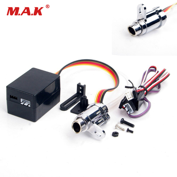 RC 1:10 Model Car Accessories 1/10 Simulation Smoke Exhaust Pipe Tubing Parts Upgrade Electronic