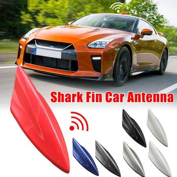 Universal Car Signal Booster Antenna Auto Roof Mast Whip Stereo Radio FM/AM Signal Aerial Magnetic Base Roof Radio Car Accessory image