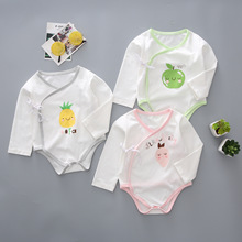 Baby infant XieJin of new fund of 2020 autumn outfit with pineapple apple strawberry printed cute baby romper suit