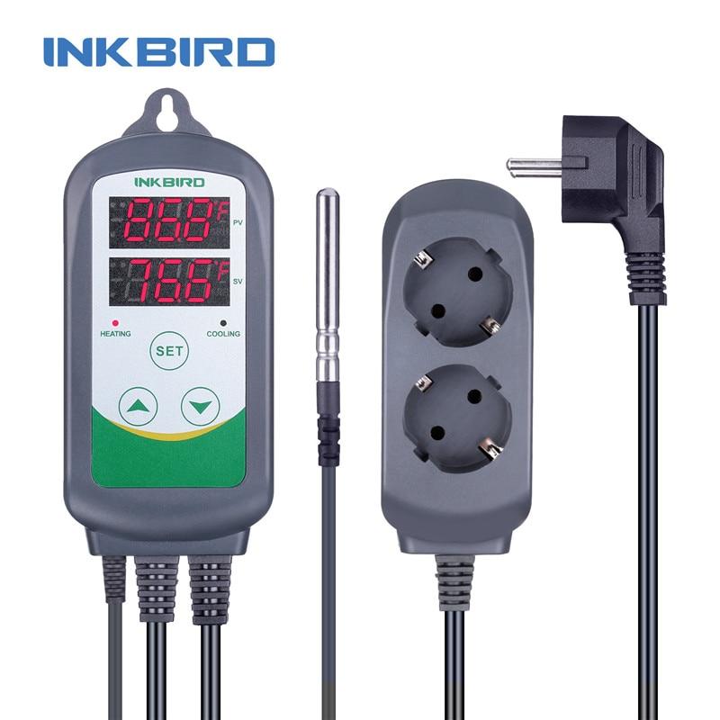 Termostato digitale Inkbird ITC-308 Uscita termostato caldo e freddo, - Strumenti di misura - Fotografia 3