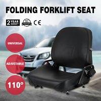 NEW KOMATSU STYLE FOLDING FORKLIFT SEAT FITS NISSAN CAT CLARK CATERPILLAR TOYOT|Water Filter Parts| |  -