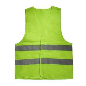 Новинка, хит, унисекс, L, XL, XXL, XXXL, светоотражающий жилет, рабочая одежда, обеспечивает высокую видимость, день, ночь, Предупреждение, Детский защитный жилет