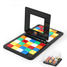 Настольные игры игрушки дети образовательные двойной разведки красочные сражения куб родитель-ребенок интерактивные кубики игры подарки