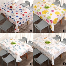Table-Cloth Decorative Home-Textile Kitchen Waterproof And for New