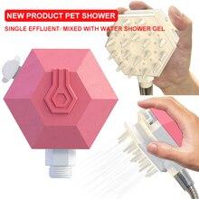 Brand new pet shower dog brush comb bathroom brush  ZD
