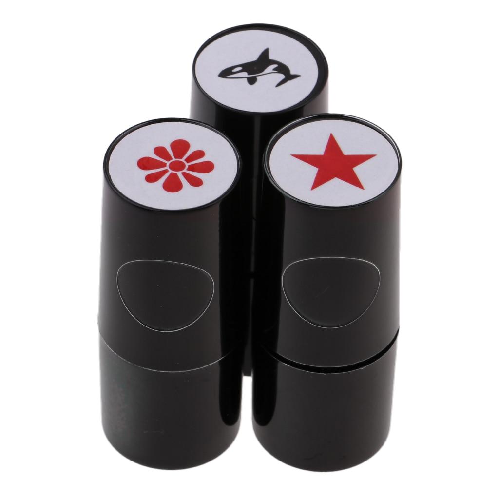 5.3cm/2.09 Inch Colorfast Golf Ball Stamp Stamper Marker Impression Seal Golfer Gift Keepsake