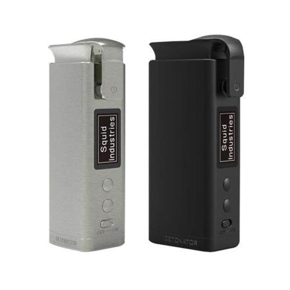 New Original Squid Industries Detonator TC Mod Fit 21700/20700 Battery Max 120W E-cig Vape Mod VS Drag 2/Double Barrel V3