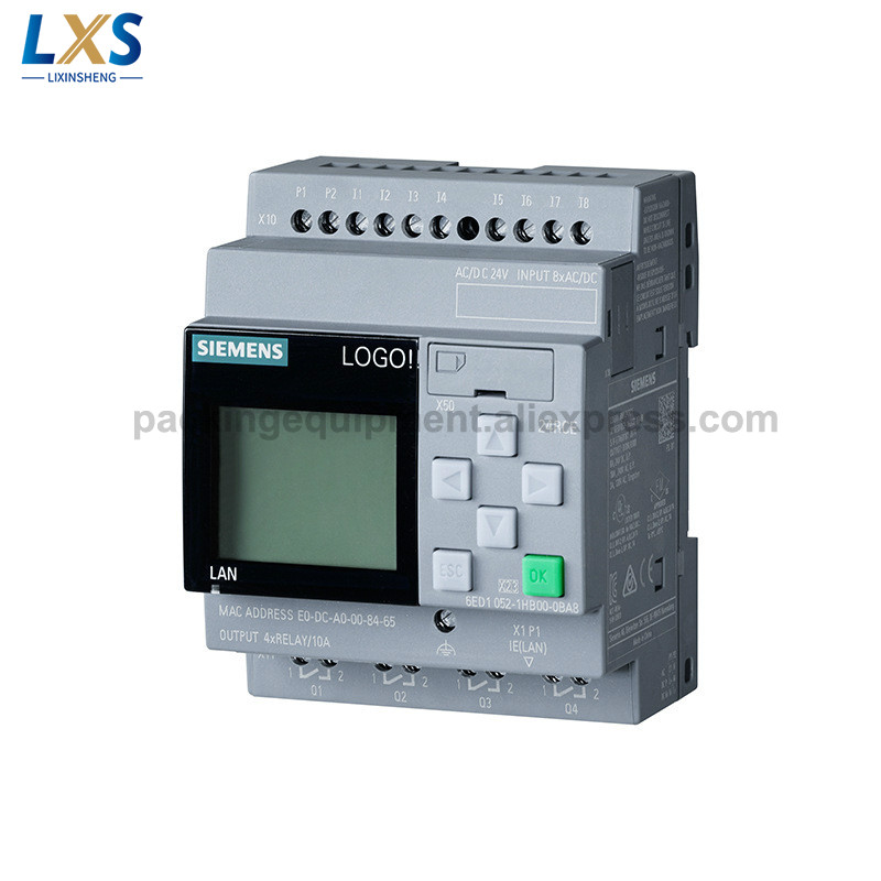 Siemens PLC Logo! 8 Intelligent Logic Controller 24RCE 6ED1052-1HB08-0BA0 Logic Modules with Display