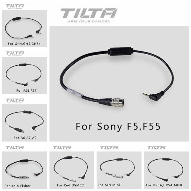 Tilta שיא כבל למעקב פוקוס מנוע אלחוטי Tilta גרעין N ננו עבור אדום/Sony F5 F55 /ARRI GH4 GH5 דובה BMPCC 4K מצלמה