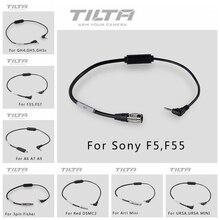 Tilta câble denregistrement pour suivre le moteur de mise au point sans fil Tilta noyau N Nano pour rouge/Sony F5 F55 /ARRI GH4 GH5 URSA BMPCC 4K caméra