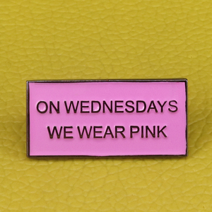Mean Girls Brooch On Wednesday