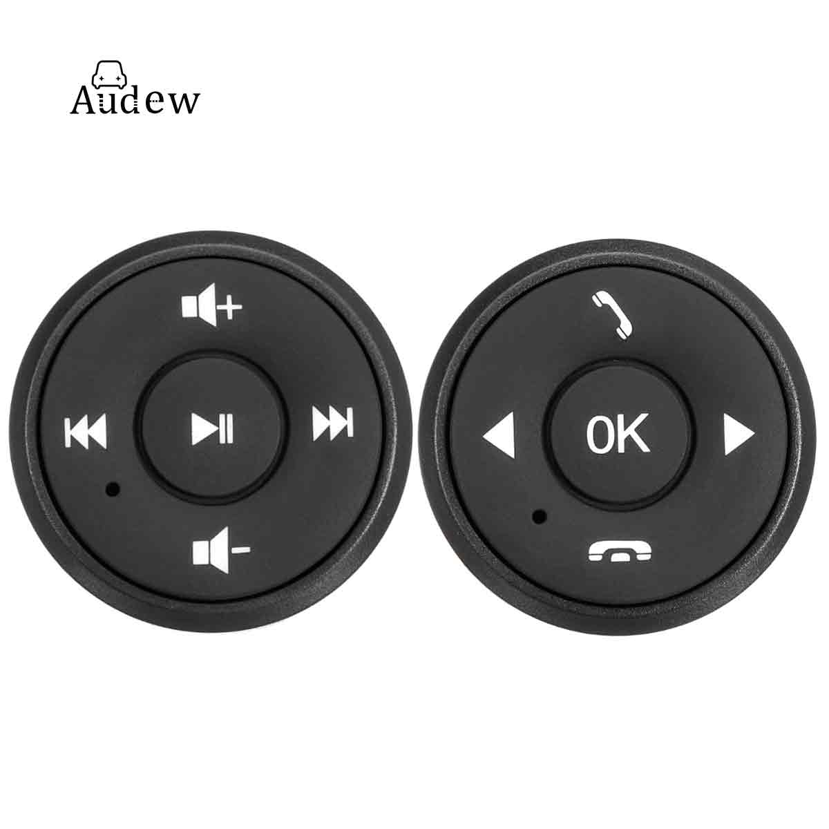 Universal Wireless Remote Control Car Steering Wheel 10 Button Remote Control For Stereo DVD GPS With Night Light