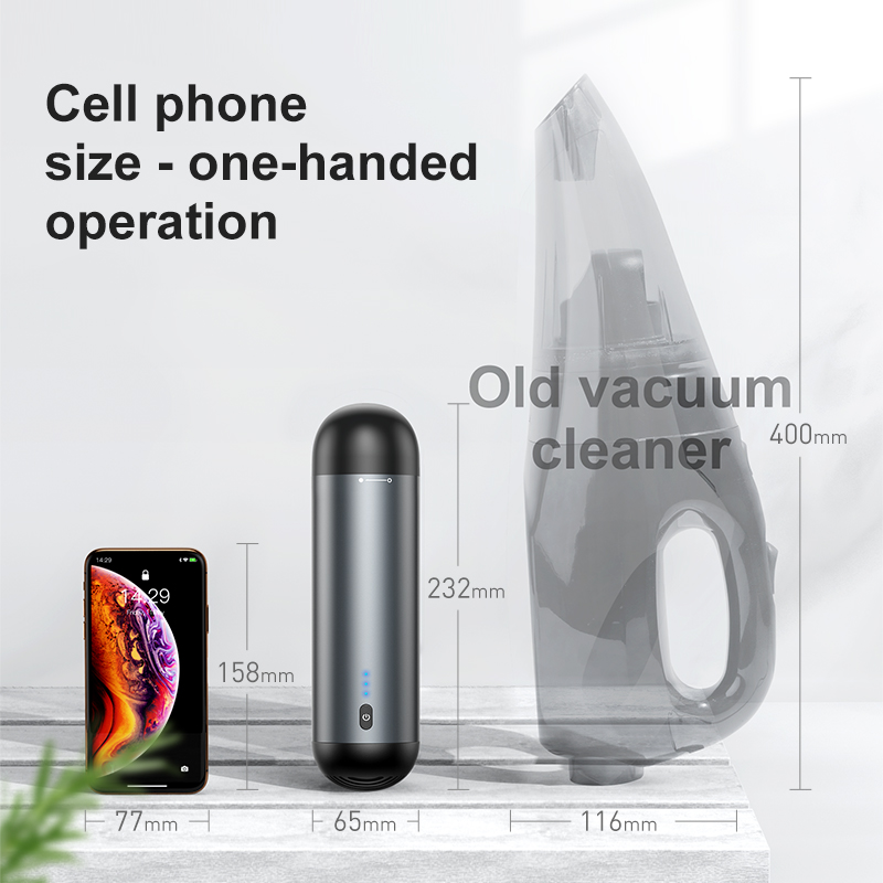 Baseus Wireless Car Vacuum Cleaner Portable Mini Small Handheld Auto Interior Vaccum Cleaner Cordless Dust Car Aspirador Hoover 3