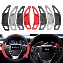 Gear-Extension-Shifter Shift Paddle Steering-Wheel Corolla Toyota DSG Camry 2pcs