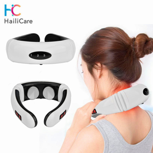 Image 1 - Electric Pulse Neck Massager Cervical Vertebra Impulse Massage Physiotherapeutic Acupuncture Magnetic Therapy Relief Pain Tool