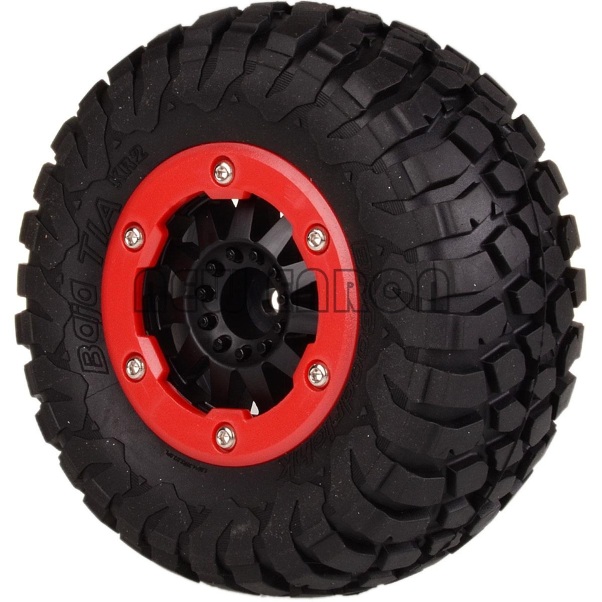 NEW ENRON 4PCS Short Course Truck <font><b>105</b></font>-108MM & Bead-Lock Rims Hub FOR TRAXXAS 10SC HPI