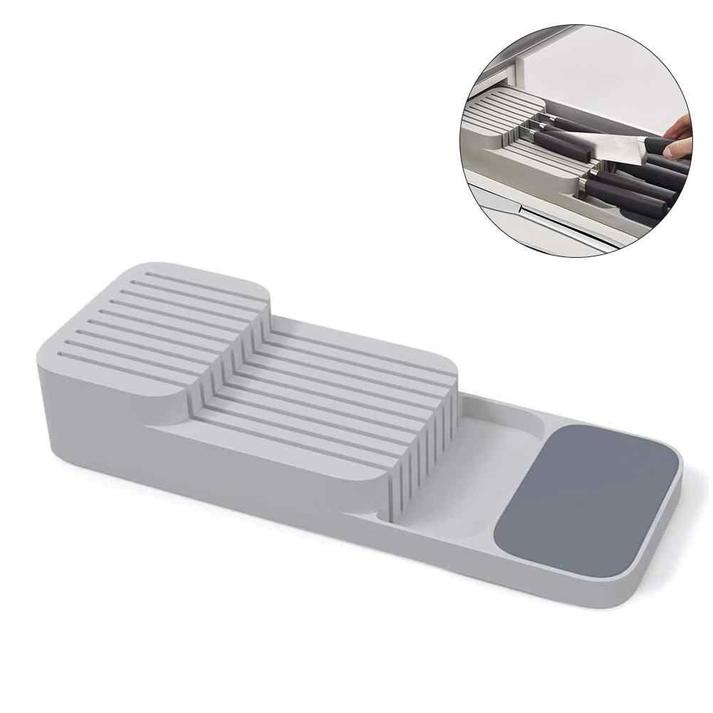 1PCS Double-layer Cutlery Drawer Organizer Kitchen Drawer Organizer Tray For Cutlery Storage And Cutter Cutlery Trays Shelf