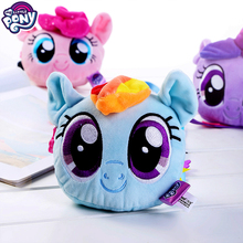 My Little Pony Cute Plush Soft Toys Kids Hang Bag Sleeping Pillow Stuffed Animals for Children Birthday Gifts Unicornio