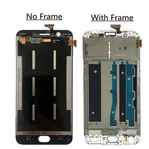 Image 2 - شاشة لمس LCD مقاس 5.5 بوصة لـ OPPO F1S A59 A1601 ، مع محول رقمي ، ومجموعة عدسات زجاجية
