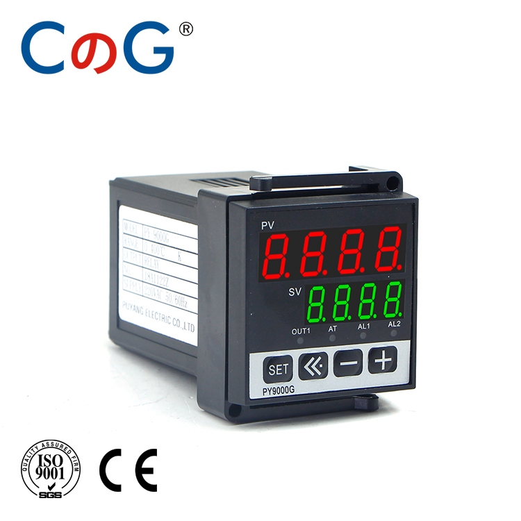 CG PY9000G 48*48mm Choice Of Fahrenheit OR Celsius K Type Single Input 220V 1200 Degree Programmable PID Temperature Controller