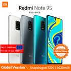 Xiaomi Redmi Note 9S Note 9 S смартфон с восьмиядерным процессором Snapdragon 720G, ОЗУ 4 Гб, ПЗУ 64 ГБ, 5020 мАч