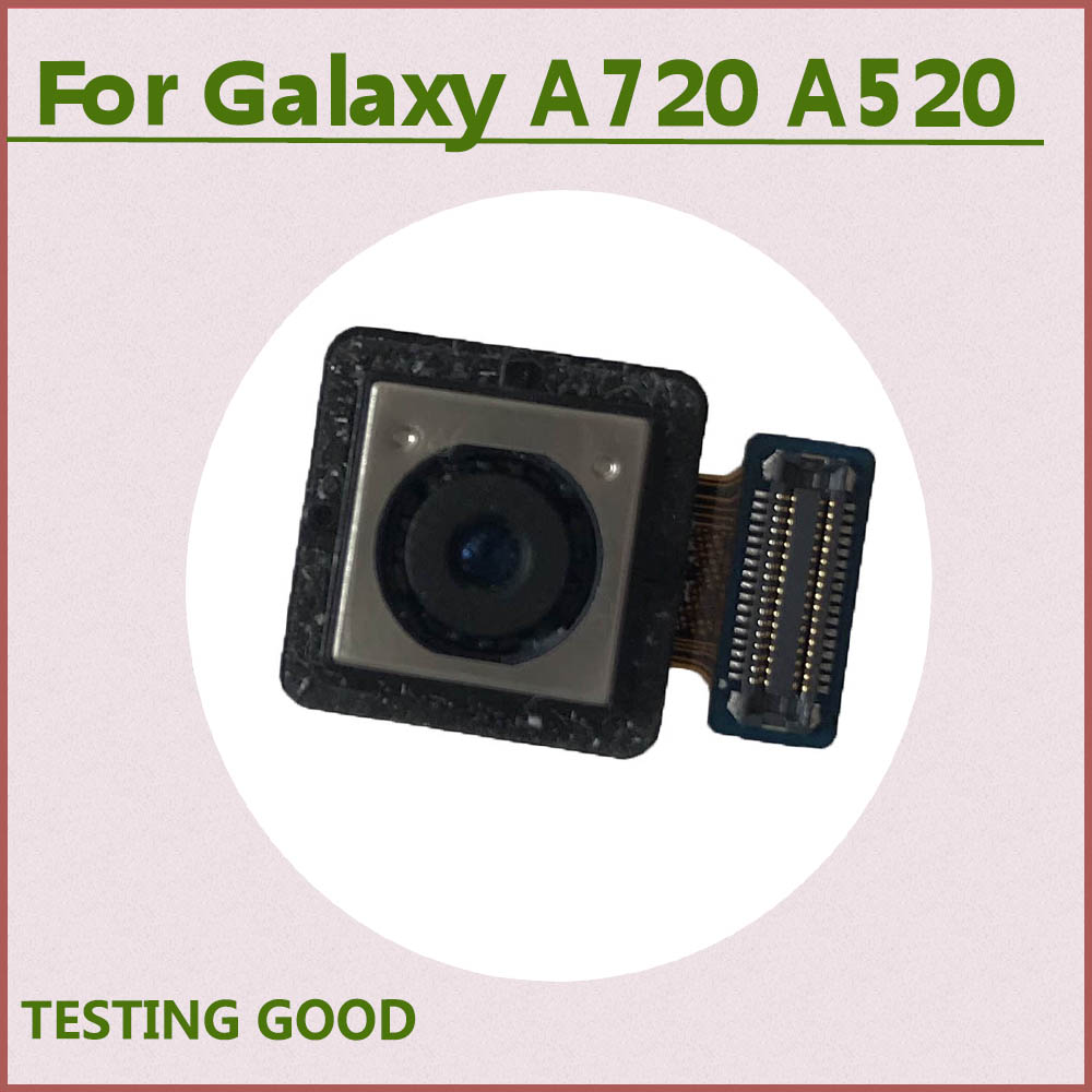 Original Back Rear Camera Module Replacement For <font><b>Samsung</b></font> Galaxy <font><b>A5</b></font> 2017 A520F A520FD <font><b>A520</b></font> A7 2017 A720F A720FD A720 Front Camera image