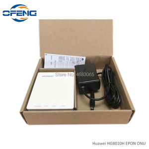 Image 5 - 50 pz nuovissimo Huawei HG8010H ont GPON ONU 1G SC UPC firmware apparecchiature di comunicazione ottica con adattatore di alimentazione, senza scatola