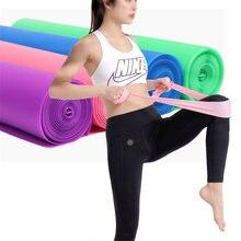Аксессуары для йоги эластичная лента сила обучения фитнесу похудения