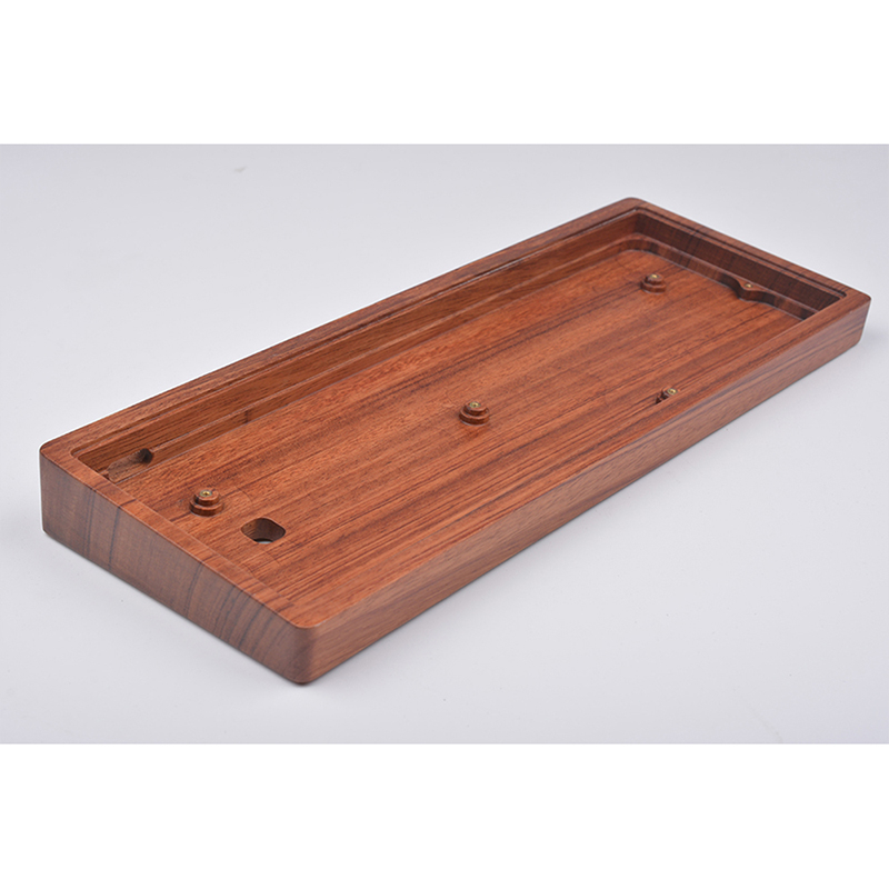 Wooden Case For 60 Mini Mechanical retro Keyboard Compatible With Poker2 Pok3R GH60 KC60 XD60 XD64 Etc Clavier Pc Gamer Keypad in Keyboards from Computer Office
