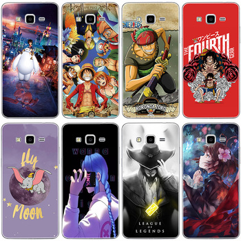 Clear cartoon Case for Samsung Galaxy Grand Prime G530 G530H G5308 for Galaxy Star Advance G350E SM-G350E Star 2 Plus Cover image