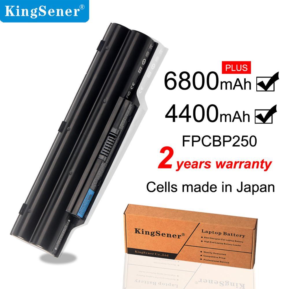 KingSener FPCBP250 Battery For FUJITSU LifeBook A530 A531 PH521 AH530 AH531 LH701 LH520 LH522 FMVNBP186 FMVNBP189 CP477891-01