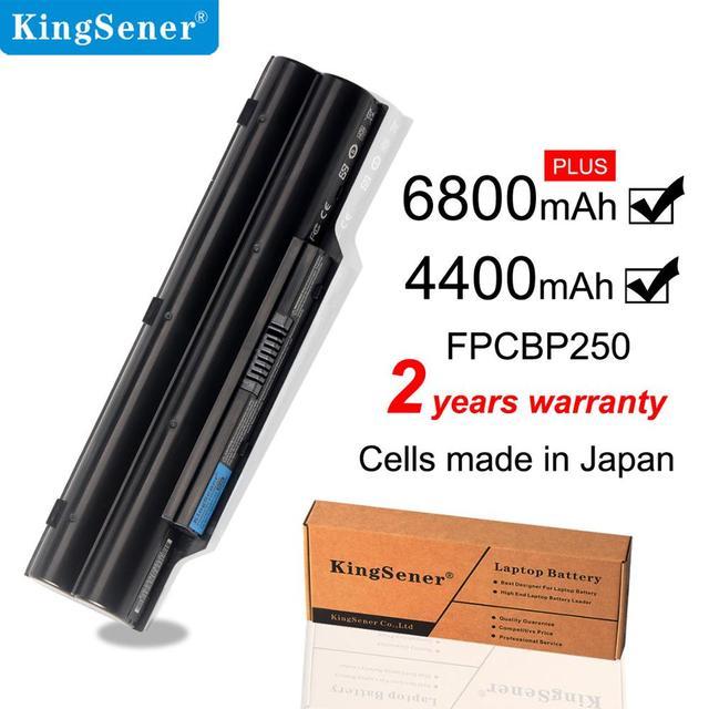 KingSener FPCBP250 Battery For FUJITSU LifeBook A530 A531 PH521 AH530 AH531 LH701 LH520 LH522 FMVNBP186 FMVNBP189 CP477891 01