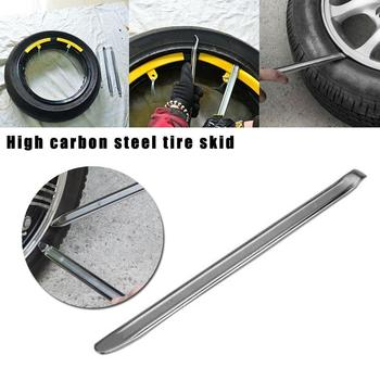 1pcs Tyre Crowbar Motorcycle Tire Lever Changer Rim Steel Protector High Pry Car Carbon Skid Plate Tool Repair Tire Tools X9U5 image