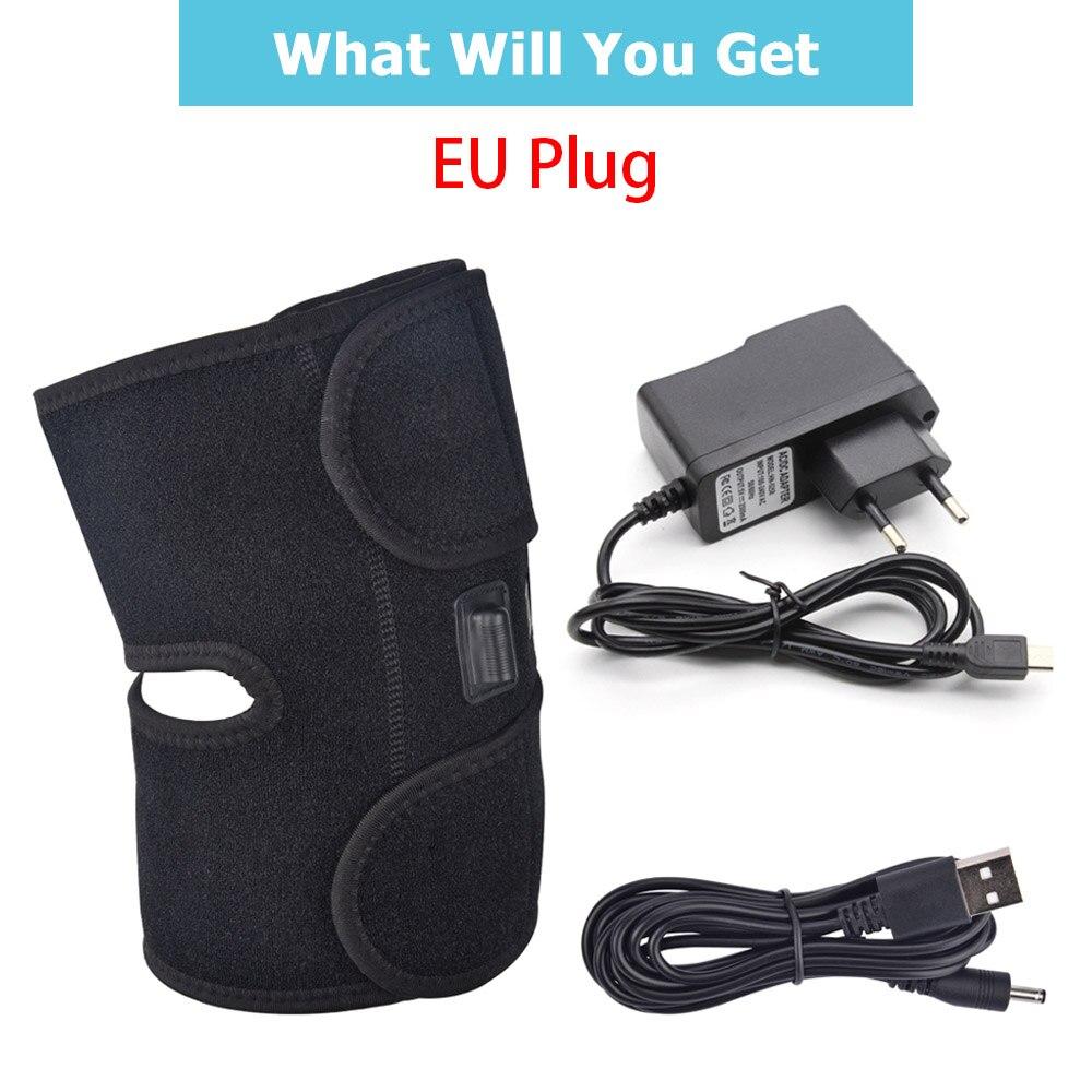 Heating Knee Brace support EU plug
