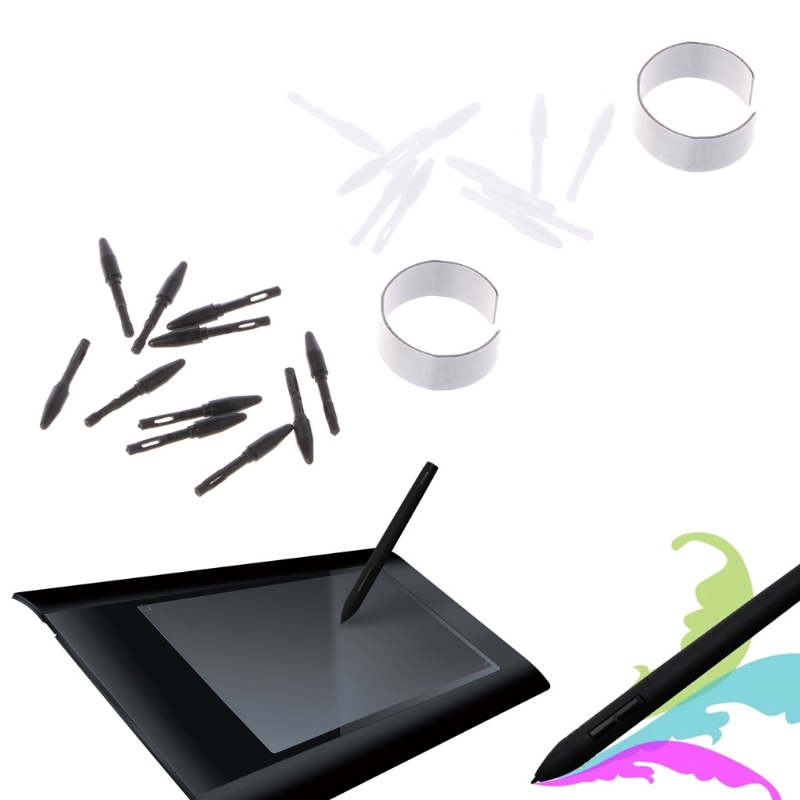 10 Pcs Replacement Pen Nibs Pen Tips Just For Huion Digital Graphics Tablet