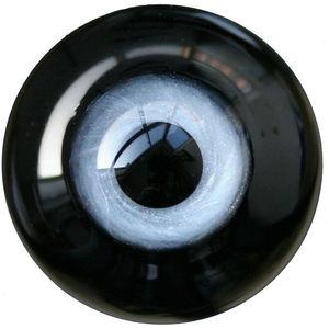 [Wamami] 6mm 8mm 10mm 12mm 14mm 16mm 18mm 20mm 22mm 24mm olhos de vidro cinzento globo ocular bjd boneca dollfie renascer fazendo artesanato