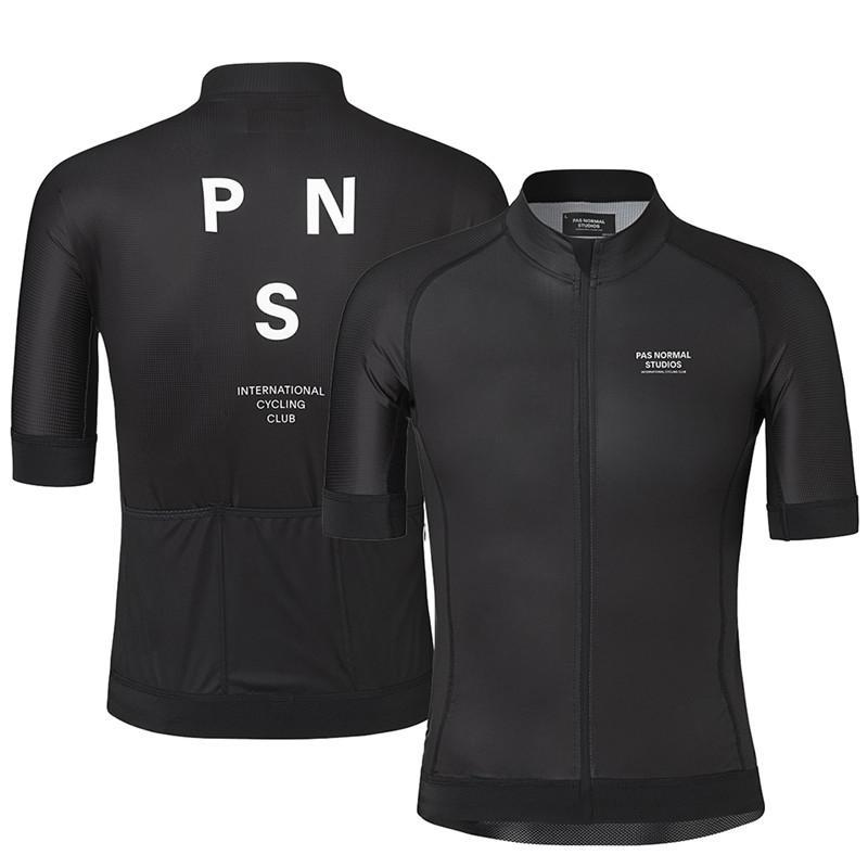 PNS 2020 Bike Tops Clothing Wear Silicone Non-slip Cyclin Shirt Summer Short Sleeve Cycling Jersey For Men Quick Dry Bicycle MTB