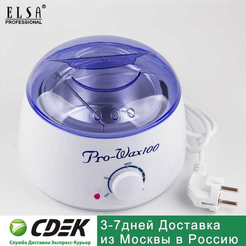 Hair Removal Tool Smart Professional Warmer Wax Heater SPA Hands Feet Epilator Depilatory Skin Care Paraffin Wax Machine Kit