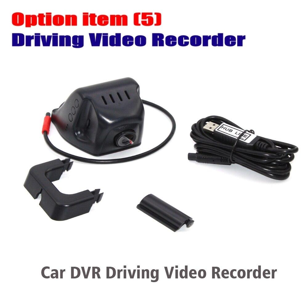 Liislee Car DVR Driving Video Recorder / Front Camera / USB WiFi Car DVRS Full HD 1080P Recorder