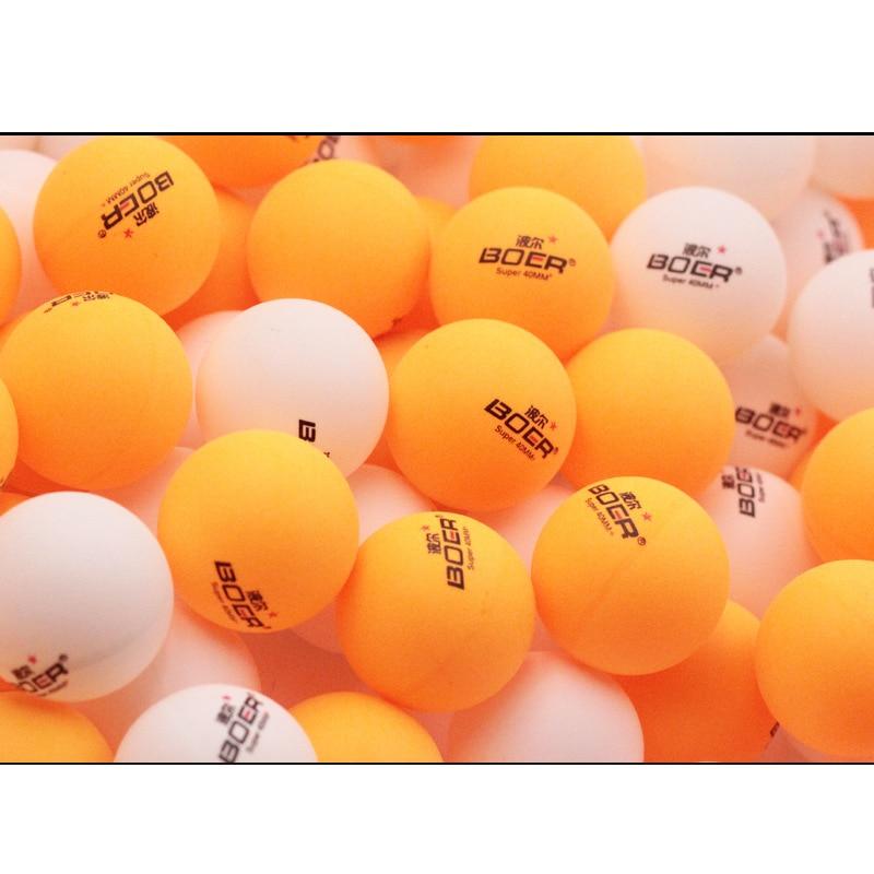150pcs/pack 1-Star Professional 40mm 2.8g Table Tennis Ping Pong Ball White Orange Amateur Advanced Daily Training Balls