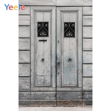 Yeele Wood Wall Photocall Grunge Chalet Retro Door Photography Backdrops Personalized Photographic Backgrounds For Photo Studio