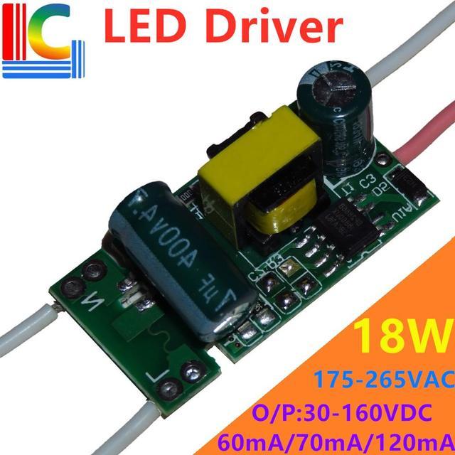 BP2866B 9W 12W 15W 18W LED Driver 60mA 70mA 100mA 120mA Power Supply 175 265V transformer for T5 T8 LED Tube DIY LED Bulb Strip