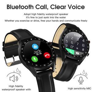 Image 4 - LEMDIOE reloj inteligente deportivo 2019, resistente al agua, con ecg y bluetooth para android y huawei, ip68 y control de la presión sanguínea para hombre
