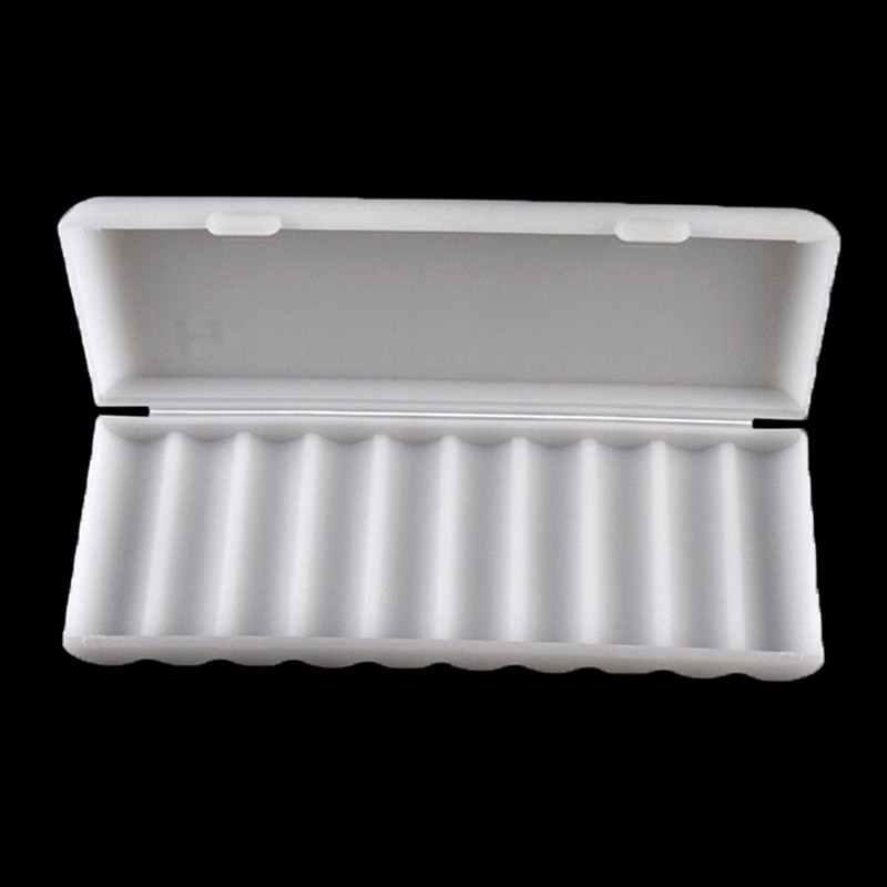 Durável 18650 caixa de armazenamento da bateria dura caso titular para 10x18650 bateria recarregável power bank casos de plástico