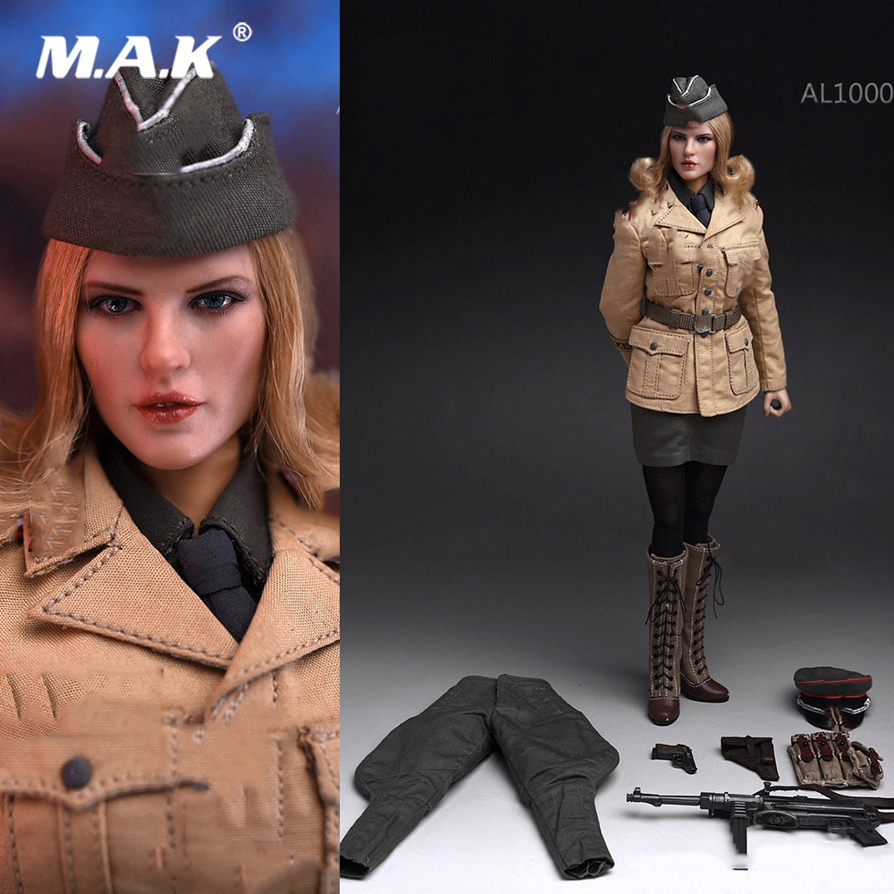 Action-Figure-Head Weapon-Model Collectible Body-Clothes Officer Female Full-Set African