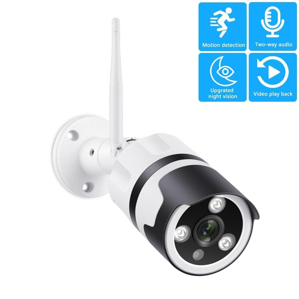 WIFI Wireless IP Camera 720P CCTV Outdoor Security Waterproof IR Night Vision