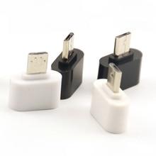 1 шт/2 шт Горячая Распродажа микро USB к USB конвертер Мини OTG USB кабель OTG адаптер для планшетных ПК Android