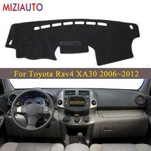 Capa para painel de toyota rav4 xa30, proteção para painel de modelo 2006 ~ 2012 rav 4 30 2007 2008 2010, proteção para o sol acessórios para carro carpete