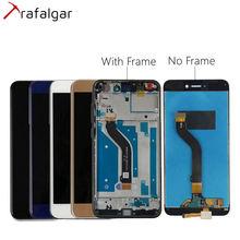 화웨이 명예 8 라이트 LCD 디스플레이 PRA TL10 트라팔가 디스플레이 명예 8 라이트 LCD 교체 프레임 LA1 터치 스크린 PRA LX1